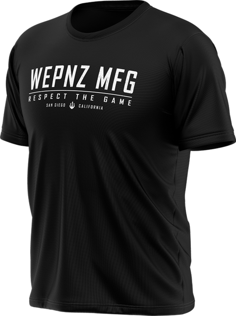Wepnz MFG (Black) Tech Shirt