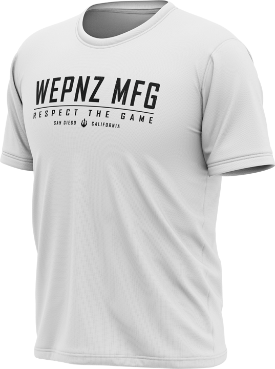 Wepnz MFG (White) Tech Shirt