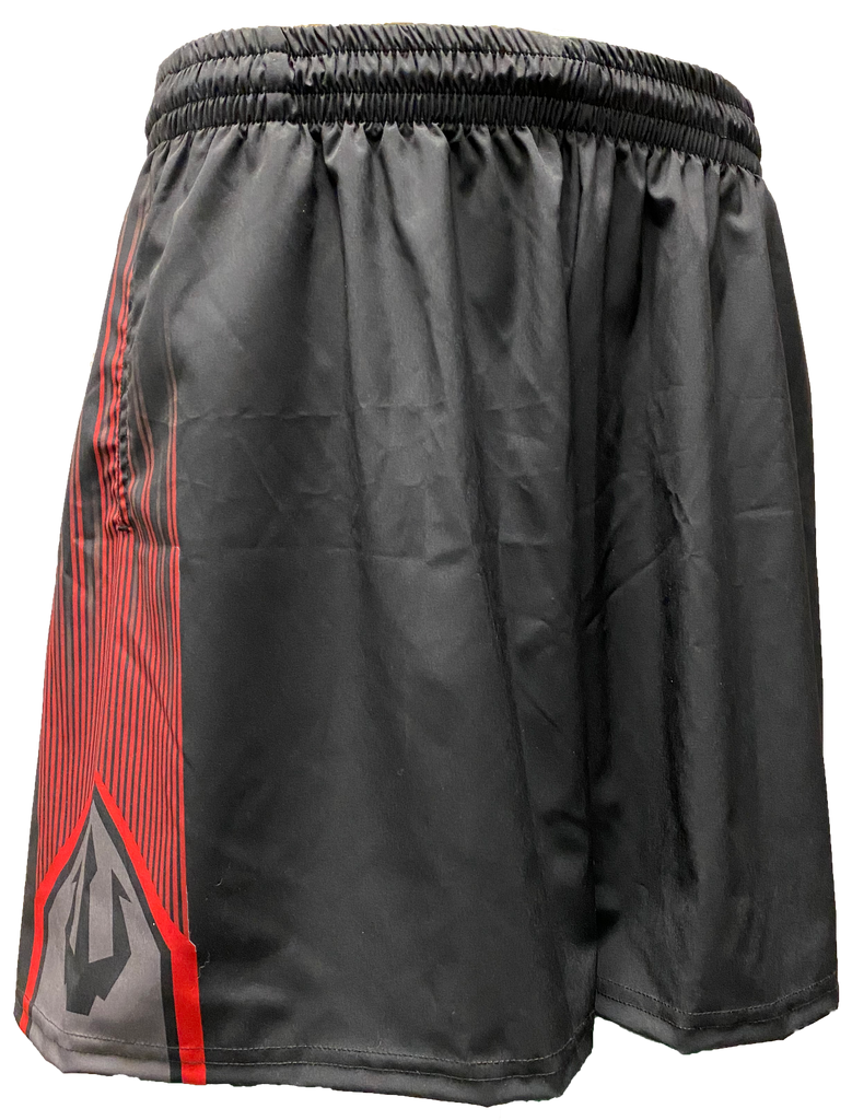 *IN STOCK* Wepnz Red/Black Flare Runner Shorts