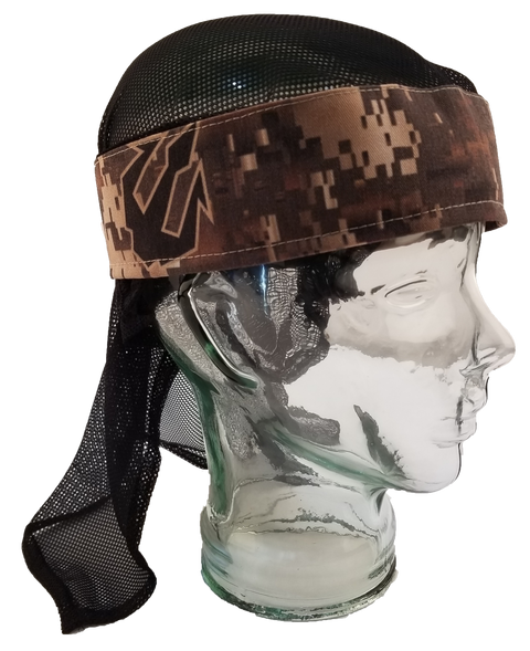 Desert Dark Digi Headwrap