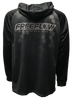 Freeflow Black Grey Stripe Hex Tech Shoodie