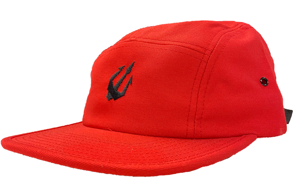 Wepnz Logo Camp Hat (Red)