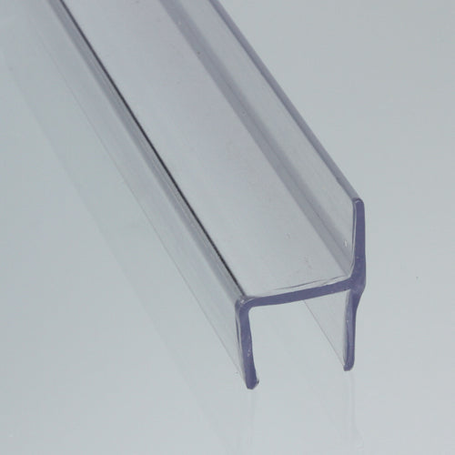 Polycarbonate H-Jamb for 180 degree Glass (Hard Leg)