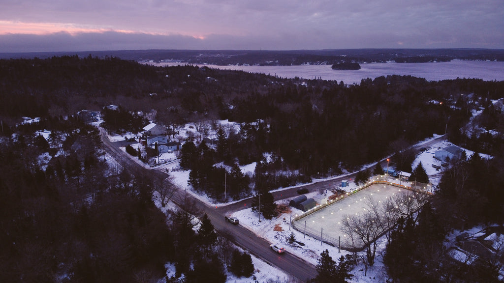Boutiliers Point Nova Scotia outdoor hockey tournament the Nomad Cup