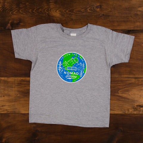 YOUTH - Worldwide Nomad T-Shirt - Heather Grey