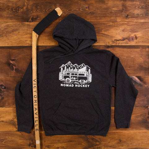 Road Trip Hoodie - Jet Black Heather