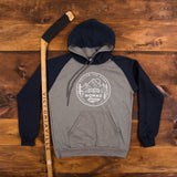Nomad Hockey Hoodie - Heather Grey/Navy