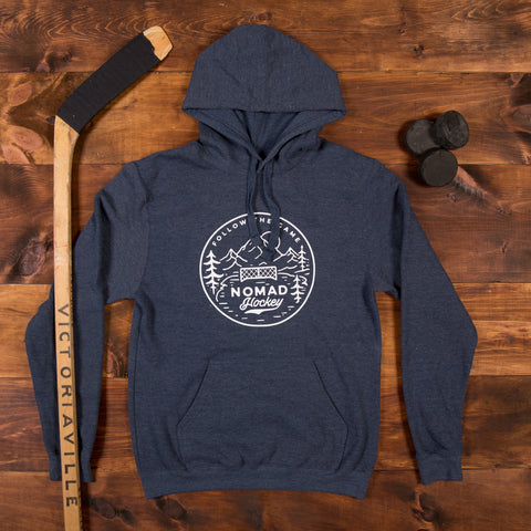 Nomad Hockey Hoodie - Heather Navy
