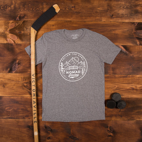 Nomad Hockey T-Shirt - Heather Grey