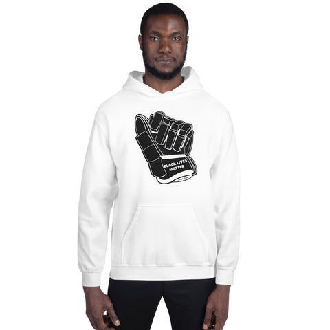 Black Lives Matter Glove Hoodie - online only