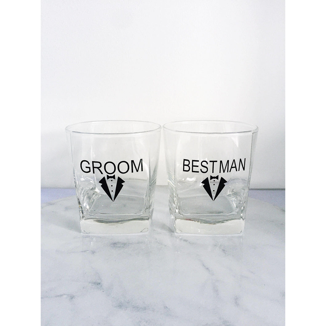 Groom/ Groomsman/ Best Man 'Suit' Glasses