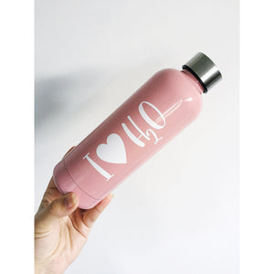Personalised 500ml Stainless Steel Water Bottle