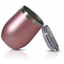 Load image into Gallery viewer, Personalised Stainless Steel Wine/Coffee Cup