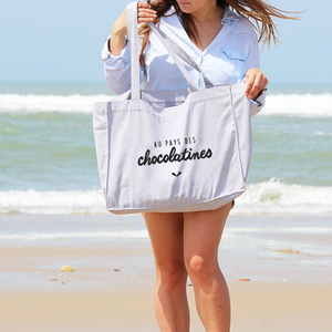 Shopping-Bag Gris