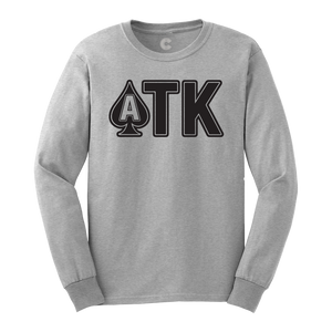 ATK - Grey Longsleeve Shirt - Long Sleeve Tee