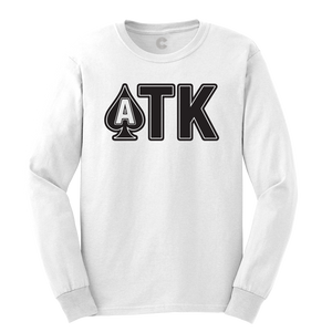 ATK - White Longsleeve Shirt - Long Sleeve Tee