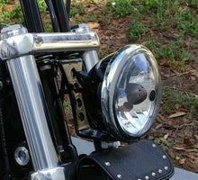 Loud and Greasy Headlight mount Sportster Dyna FXR