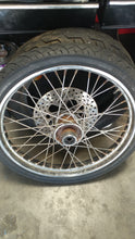 "Pre 99 Harley wide glide 21"" single disk wheel"