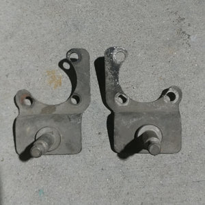 Harley Survi-car lower shock mount set