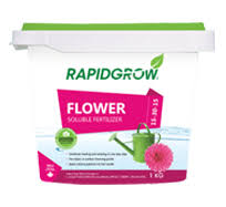 Rapidgrow Fertilizer we think it's better than Miracle Gro