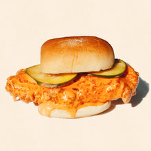 Load image into Gallery viewer, FRIDAY: FRIED BUFFALO CHICKEN SANDWICH