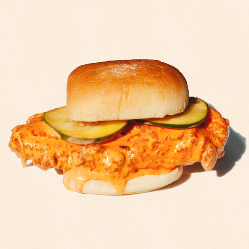 FRIDAY: FRIED BUFFALO CHICKEN SANDWICH