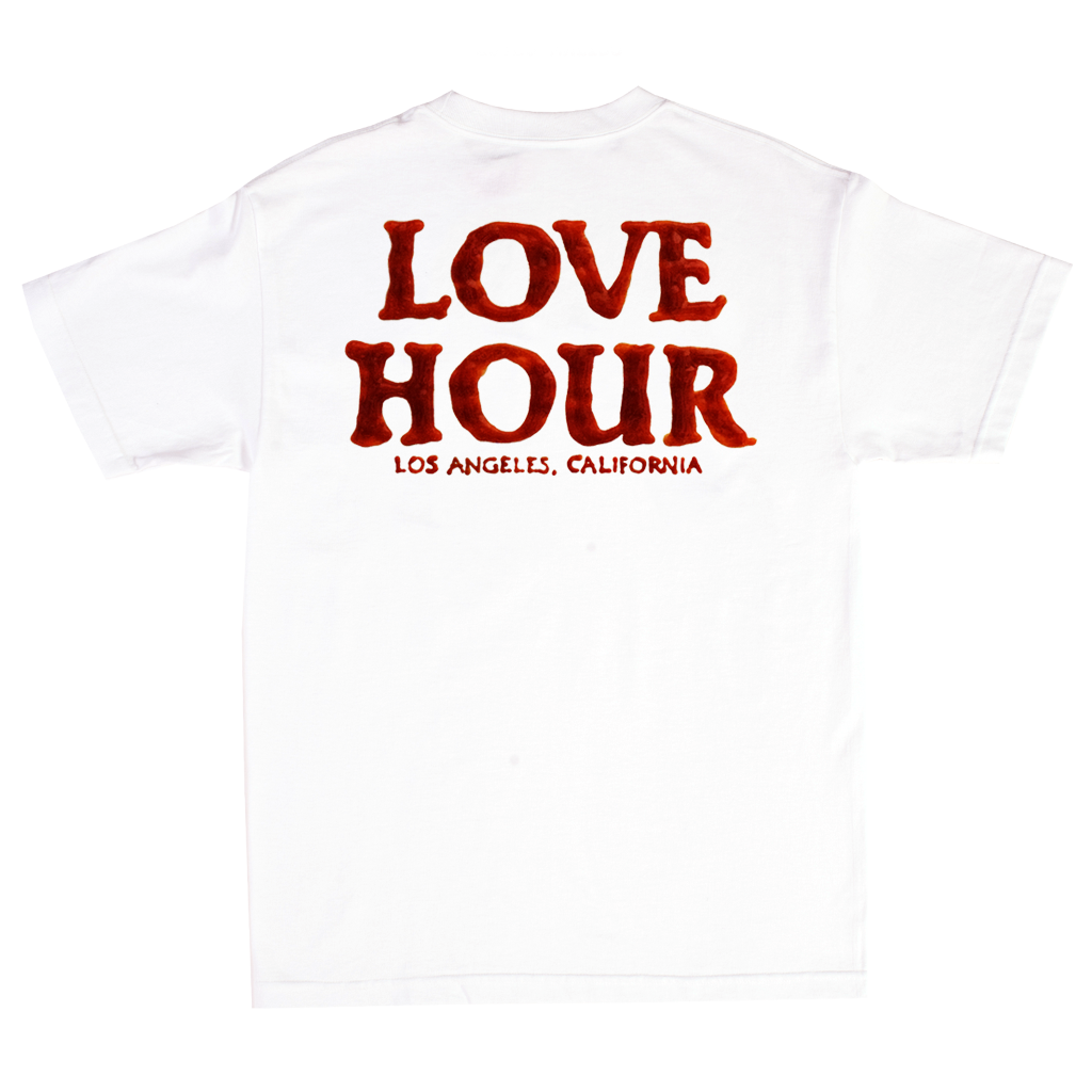 FOOL'S GOLD x LOVE HOUR Ketchup Logo Tee