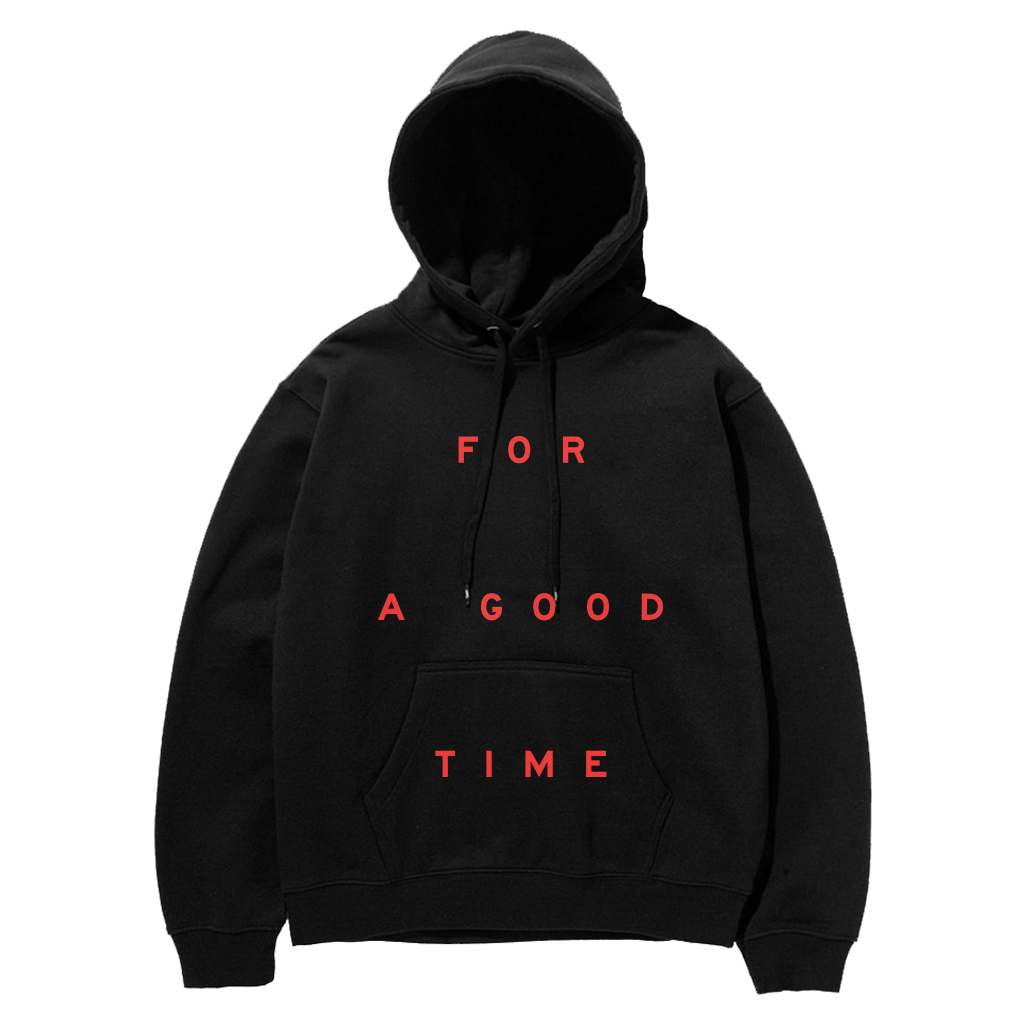 GOOD TIME Black Hoodie