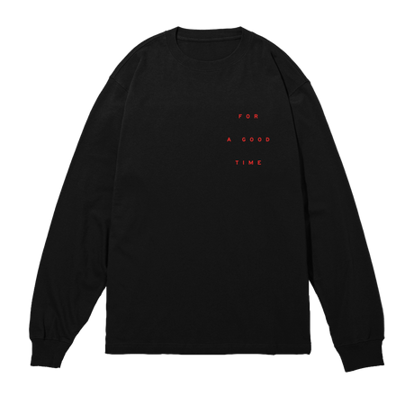 GOOD TIME Black Long Sleeve