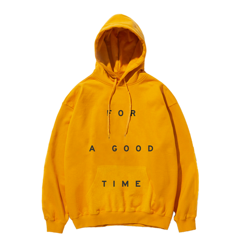 GOOD TIME Gold Hoodie