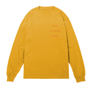 GOOD TIME Gold Long Sleeve