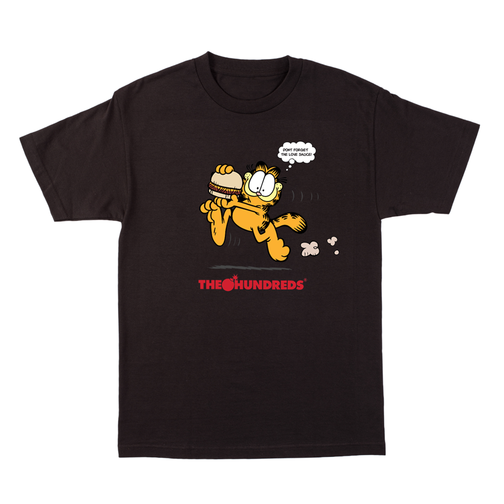 THE HUNDREDS x LOVE HOUR x GARFIELD Tee