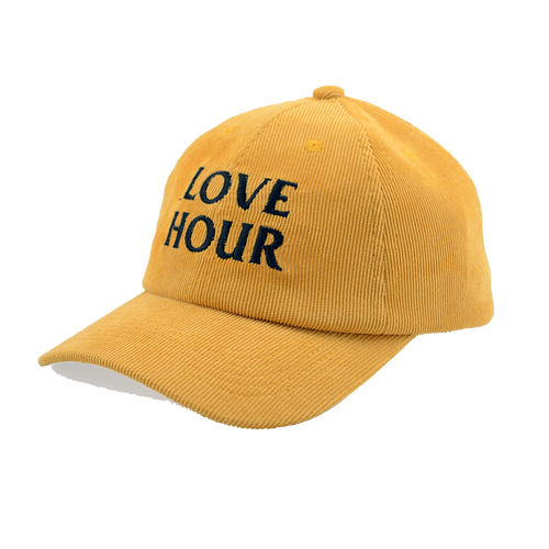 Logo Corduroy Six Panel Cap