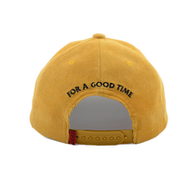 Load image into Gallery viewer, Logo Corduroy Six Panel Cap