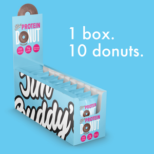 Protein Donut 10 Pack - Cake Batter - Landing Page