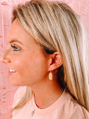 Jaw Dropper Kendra Scott Inspired Earrings - Front Porch Boutique