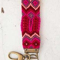 Sayulita Key Fob Purple Red