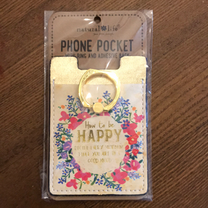 Phone Pocket How To Be Happy