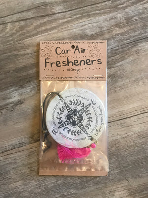 Car Air Freshener Compass