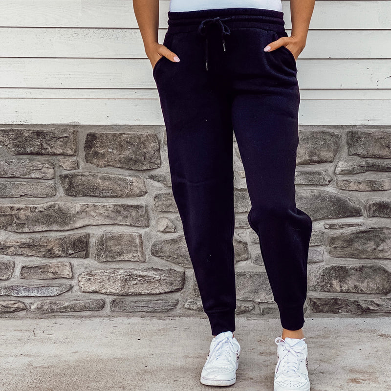 Black Lightweight Jogger Sweatpants