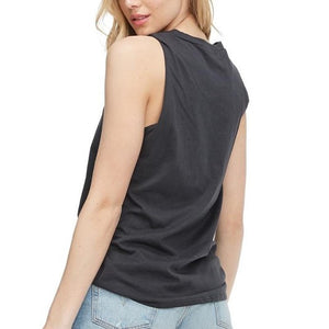 Midnight Rodeo Tour Black Graphic Tank