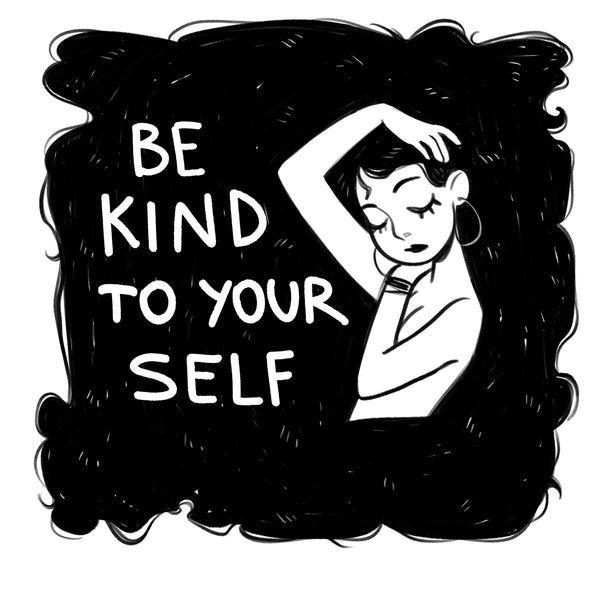 """Be Kind To Yourself"" Sticker"