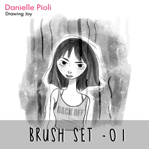 Photoshop Brush Set by Danielle Pioli