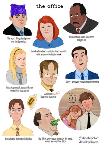 The Office - Sticker Sheet