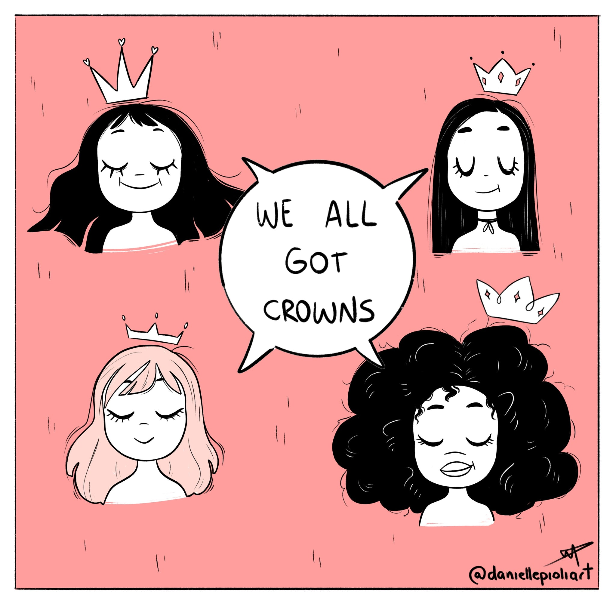 Comic: We All Got Crowns