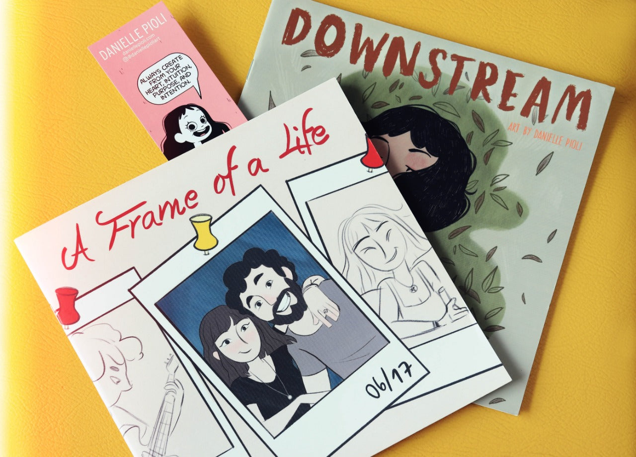 "Book Bundle: ""A Frame of a Life"" & ""Downstream"""
