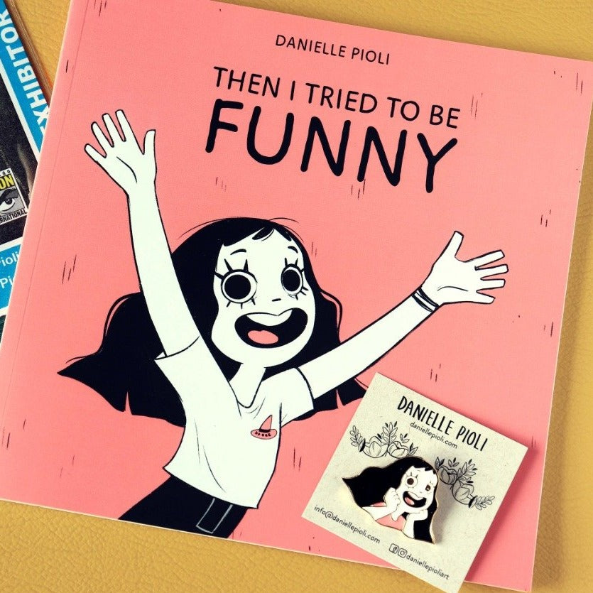 "Bundle Book + Pin - ""Then I Tried to be Funny"""