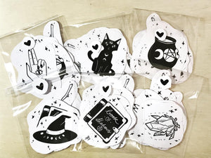 "The ""Witch Kit"" Stickers"