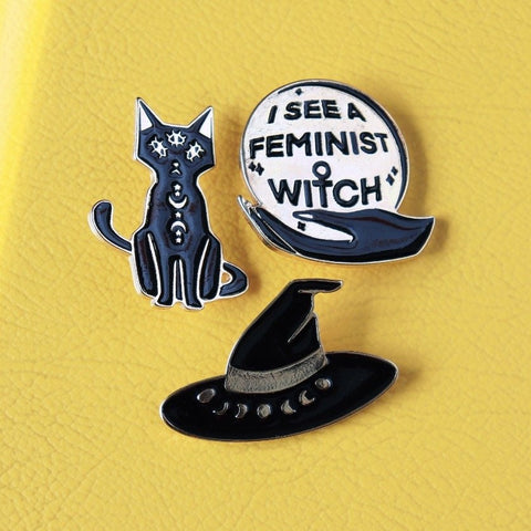 """Witch"" Pin Kit"