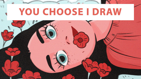 You Choose I Draw LIVE - LIGHTBOX EXPO ONLINE 2020